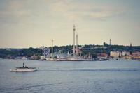 Sweden, Stockholm, Amusement park Groena Lund