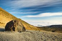 Spain, Canary Islands, Tenerife, Pico del Teide in Teide National Park, Lava rock, Huevos del Teide, Teide-egg
