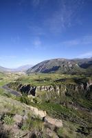 South America, Peru, View to Colca Canyon