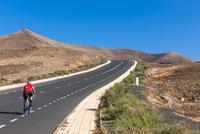 Spain,Canary Islands, Lanzarote, coastal road near Costa Teguise