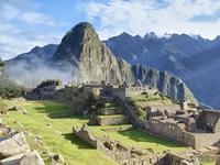 Peru, ruined city at Machu Picchu