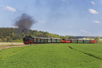 Germany, Upper Swabia, Oechsle Narrow Gauge Railway