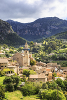 Spain, Balearic Islands, Mallorca, Valldemossa, village