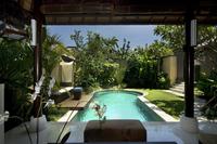 Private pool at resort
