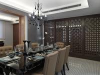 Elegant asian dining room