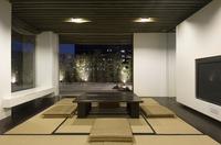 Modern oriental dining room