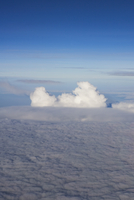 High angle view of sea of clouds