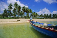 Deserted beach on south coast, Phu Quoc island, Vietnam
