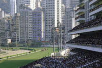 Royal Jockey Club, Happy Valley, Hong Kong, China, Asia 20025347556| 写真素材・ストックフォト・画像・イラスト素材|アマナイメージズ