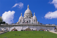 Basilica of Sacre Coeur, Montmartre, Paris, France, Europe