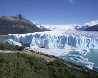 Perito Moreno glacier, Parque Nacional Los Glaciares, UNESCO World Heritage Site, El Calafate, Argentina, South America 20025347825| 写真素材・ストックフォト・画像・イラスト素材|アマナイメージズ