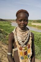 Hamer tribe, Lower Omo Valley, southern Ethiopia, Ethiopia, Africa 20025347868| 写真素材・ストックフォト・画像・イラスト素材|アマナイメージズ