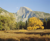 Half Dome in the autumn, Yosemite National Park, California, United States of America