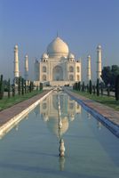 The Taj Mahal, Agra, Uttar Pradesh State, India, Asia