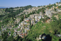 Darjeeling, old British hill station established in the 1800s, West Bengal, India