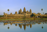 The temple of Angkor Wat, Angkor, Siem Reap, Cambodia