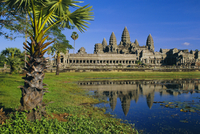 Angkor Wat, temple in the evening, Angkor, Siem Reap, Cambodia