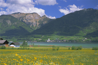 Lake Wolfgangsee, St. Wolfgang, the Salzkammergut, Austria, Europe