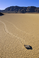 The 'Racetrack' boulders, Death Valley National Park, California, United States of America