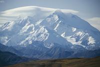 Mount McKinley, at 20320 feet the highest peak in North America, Denali National Park, Alaska, United States of America (U.S.A.)