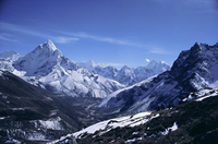 Ama Dablam peak, Mt Everest Region, Himalayas, Nepal