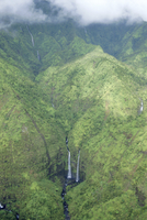 The wettest place on Earth, Mt. Waialeale, Kauai, Hawaii, United States of America