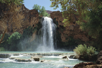 Harasu Falls, Grand Canyon, Arizona, United States of America, North America