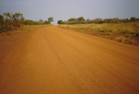 The main road from Cameroun to the capital Bangui, Central African Republic, Africa