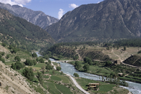 Village of Kacak, northern Swat Valley, Pakistan, Asia