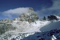 South east face, Mount Kenya, UNESCO World Heritage Site, Kenya, East Africa, Africa