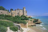 Tamarit Castle, Tarragona, Catalonia (Cataluna), Spain, Europe