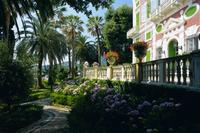 Gardens of the Villa Durazzo, Santa Margherita Ligure, Portofino Peninsula, Liguria, Italy, Europe