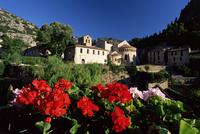 Abbey Church, St. Guilhem-le-Desert, Herault, Languedoc-Roussillon, France, Europe