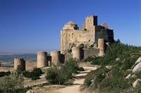 Castillo de Loarre, Loarre, Huesca, Aragon, Spain, Europe