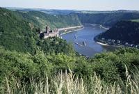 River Rhine, Rhineland, Germany, Europe