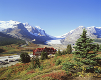 Athabasca Glacier, Columbia Icefield, Jasper National Park, Rocky Mountains, Alberta, Canada