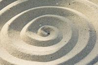 Sand spirals 20025348756  写真素材・ストックフォト・画像・イラスト素材 アマナイメージズ