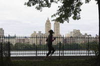 Joggers, Central Park, Manhattan, New York City, New York, United States of America, North America