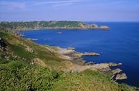 Moulin Huet Bay, Guernsey, Channel Islands, UK