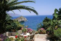 Mazzaro Beach, Taormina, island of Sicily, Italy, Mediterranean, Europe