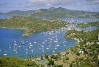 English Harbour, Antigua, Caribbean, West Indies