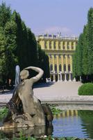 Naiad fountain, Schonbrunn, UNESCO World Heritage Site, Vienna, Austria, Europe