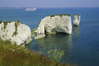 Old Harry Rocks, Isle of Purbeck, Dorset, England, United Kingdom