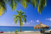 Anse Chastenet Beach, St. Lucia, Caribbean, West Indies 20025349120| 写真素材・ストックフォト・画像・イラスト素材|アマナイメージズ