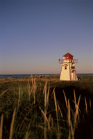 Lighthouse at Cavendish Beach, Prince Edward Island, Canada, North America