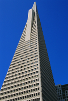 The TransAmerica Pyramid, at 260m the tallest building in San Francisco, California, United States of America