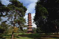 The Pagoda in the Royal Botanic Gardens at Kew (Kew Gardens), UNESCO World Heritage Site, London, England, United Kingdom, Europ