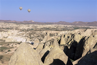 Valley of Goreme, central Cappadocia, Anatolia, Turkey, Asia Minor, Asia