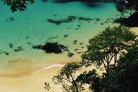 People walking on Baia do Sancho beach, Parque Nacional de Fernando de Noronha, Fernando de Noronha, Pernambuco, Brazil, South A 20025349976| 写真素材・ストックフォト・画像・イラスト素材|アマナイメージズ