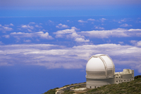 Astrophysic observatory situated near Roque de los Muchachos, La Palma, Canary Islands, Spain, Atlantic, Europe 20025349994| 写真素材・ストックフォト・画像・イラスト素材|アマナイメージズ